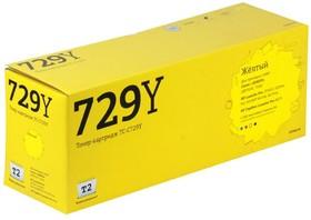 Картридж T2 TC-C729Y (729Y) желтый