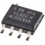 Фото 2/2 OPA2132UA, 2-х канальный, быстродействующий ОУ с входным каскадом на полевых транзисторах, [SO-8]