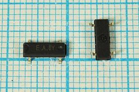 кварцевый резонатор часовой 32.768кГц в SMD корпусе 7.3x4.2мм, нагрузка 12.5пФ; 32,768 \SMD07342P4\12,5\ 20\150/-40~85C\MC-206\1Г