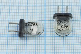 Фото 1/4 кварцевый резонатор 32.768МГц в стеклянном корпусе КА, 3-ья гармоника, 32768 \КА\\\\\3Г