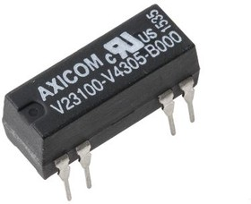 1-1393763-8, Reed Relay 5VDC 200Ohm 0.5A DPST-NO( (19.3mm 7.5mm)) THT Dry