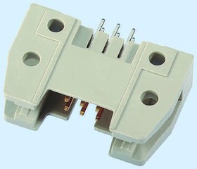 1-1393586-5, Conn Shrouded Header HDR 20 POS 2.54mm Solder ST Thru-Hole