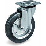 Колесо Tellure Rota 053344 поворотное, диаметр 200мм, грузоподъемность 230кг ...