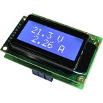 EK-7208W, Встраиваемый цифровой вольтметр + амперметр.