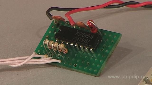 Специализированная микросхема К176ИЕ12 является двоичным счетчиком и предназначена для использования в электронных...
