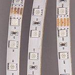 LS607 (141-499)(L5050RGB-IP65), Лента светодиодная 1 метр, 60SMD(5050)/m 14.4W/m 12V IP65 RGB