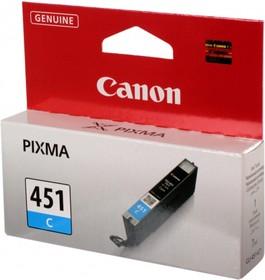 Картридж CANON CLI-451C 6524B001, голубой