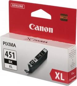 Картридж CANON CLI-451XLBK 6472B001, черный