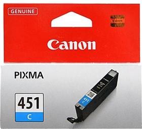 Картридж CANON CLI-451XLC 6473B001, голубой