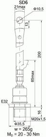 Д161-320-16 УХЛ2, Диод 320А 1600В