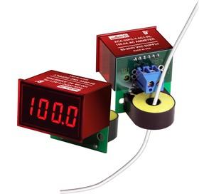 Фото 1/2 ACA-20PC-3-AC1-RL-C, Амперметр переменного тока цифровой, измерительная головка до 50A, красный