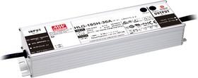 Фото 1/4 HLG-185H-48A, AC/DC LED, 48В,3.9А,187.2Вт,IP65 блок питания для светодиодного освещения