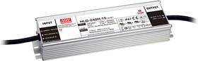 HLG-240H-12, AC/DC LED, блок питания для светодиодного освещения