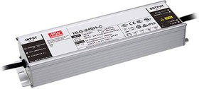 HLG-240H-C700B, AC/DC LED, 178-357В,0.7А,240Вт,IP67, блок питания для светодиодного освещения
