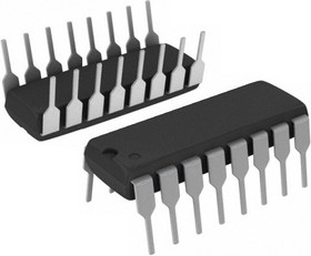 Фото 1/3 MAX202CPE+, Приемопередатчик интерфейса RS-232 [DIP-16]
