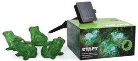 САД 4LED Лягушки, Светильник садовый на солнечной батарее
