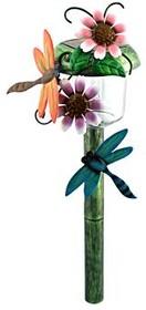 Фото 1/2 САД 1LED Лето Cтрекоза, Светильник садовый на солнечной батарее