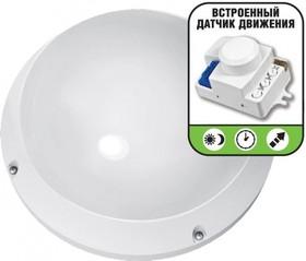 Фото 1/3 NBL-PR1-12-4K-WH-SNR-LED (94843), Светильник светодиодный с датчиком движения, 12Вт,белый