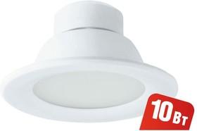 Фото 1/4 NDL-P1-10W-840-WH-LED (94836), Светильник светодиодный встраиваемый, 10Вт, белый