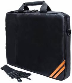 """Сумка для ноутбука PC PET PCP-1004BK 15.6"""" нейлон черный"""