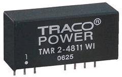 TMR 2-4811WI, DC/DC преобразователь, 2Вт, вход 18-75В, выход 5В/0,4А