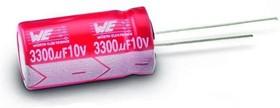 Фото 1/3 ECAP (К50-35), 180 мкФ, 50 В, 10x16, 860080675014, Конденсатор электролитический алюминиевый