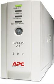 Фото 1/2 BK500-RS, Источник бесперебойного питания (ИБП/UPS),500ВА/300Вт, IEC, offline, бежевый