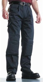 WD884R BLK 38, Super Work Trousers Black