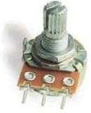 Фото 1/2 P160KNP-0QC20A10K, 10 кОм, Резистор переменный