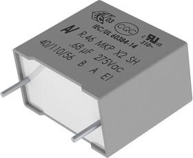 R46KR368050M1K, 0.68 мкФ, 275 В, 10%,X2, Конденсатор подавления ЭМП