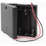 KLS5-812-B (FC1-5230), Закрытый батарейный отсек 4xAA c выключателем