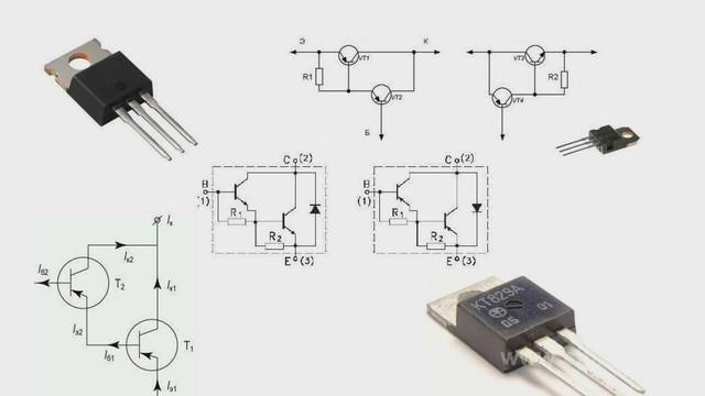 Высоковольтный составной транзистор своими руками
