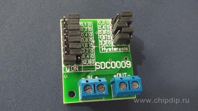 SDC0009 - программируемый контроллер разряда аккумулятора.