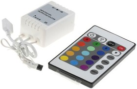 SR-RGB-3CH-MINI-IR, Контроллер RGB для светодиодной ленты с IR пультом