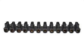 HFW-6B, Клеммная колодка 6 А, провод 6 мм2, черная