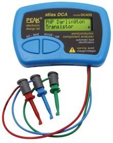 DCA55, Тестер анализатор транзисторов