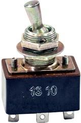 Фото 1/5 ТП 1-2, тумблер рычажный металл (18-19г.)