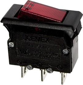 M1L10-B1120-G выключатель-автомат 250В 10A (CBLS2A10) с подсветкой