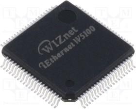 W5100, 10/100 Ethernet - контроллер, [QFP-80] | купить в розницу и оптом