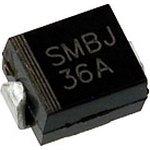 SMBJ36A, Защитный диод, 600Вт, 36В, [SMB / DO-214AA]