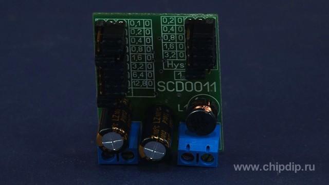 SCD0011, программируемый контроллер заряда аккумулятора.