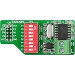 MIKROE-68, CANSPI Board, Плата для подключения узлов по ...