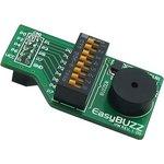 MIKROE-478, EasyBuzz Board, Плата с пьезодинамиком 20Гц..20кГц