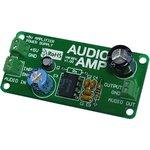 MIKROE-234, AudioAMP Board, Оценочная плата усилителя мощности НЧ LM386