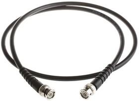 V059-A1CA1C0100-0, BNC straight plug-plug RG