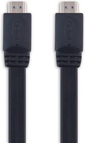 SP3043, Кабель HDMI А вилка - HDMI А вилка, плоский, длина 1.8 м