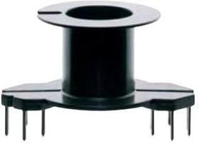Фото 1/2 B65812N1008D001, Ferrite Accessories Coil Former Black Plastic