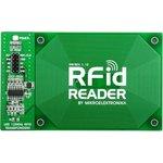MIKROE-262, RFid Reader Board, Плата RFID считывателя на базе EM4095