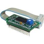 MIKROE-151, Serial LCD Adapter Board, Плата для подключения дисплея LCD 2x16-4x20