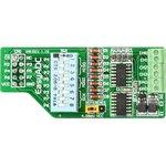 MIKROE-340, EasyADC Board, Дочерняя плата к отладочным платам компании mikroElektronika с 12-разрядным АЦП MC